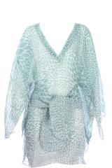 Robe Kimono Aqua