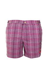 Oxford long Tartan Pink