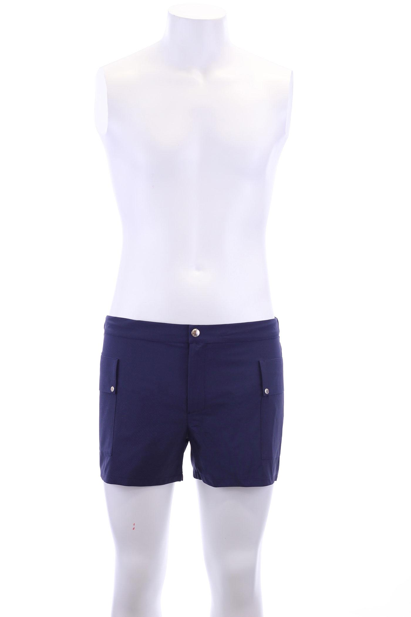 Intemporel navy shan for Bouton cuisse interieur