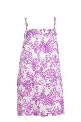 Robe Bustier Paisley