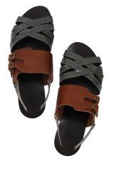Sandales vernies